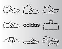adidas x line concept renewal