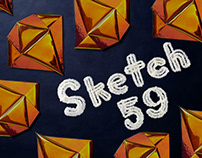 Sketch 59 Crystal Lettering