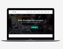Download Free Psd File Web Design/Home Page Design