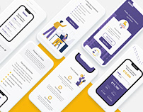 Landing page for a fast business loan service - Bloom