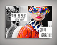 TOBE Report (mock-up) Color Inspiration F/W 16-17