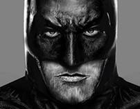 Batman Dawn of justice digital painting