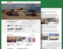 Zeol company. Web site for mining company.