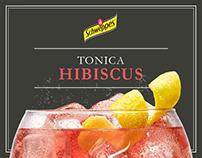 Schweppes - Tonica Hibiscus