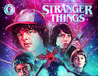Stranger Things Comics - Glow in the Dark