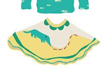 collection de vêtements pour enfants