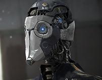 Old Robot (3D render)