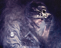 Call of Duty GHOSTS - Poster