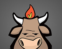 Fat Cow BBQ Logo