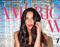 American Way May 2016 - Olivia Munn cover