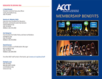 ACCT Membership Brochure - Side 1