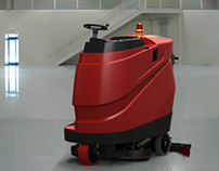 UP 150 - Ride on Machine Sweeper