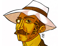 Santos Dumont Steam Punk