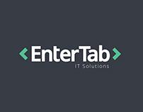Entertab.net logo design