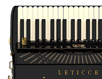Leticce Acordeon 3D Model [3d modeling]