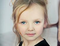 Детское модельное портфолио