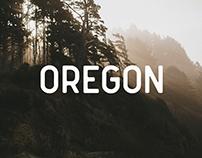 Oregon Font