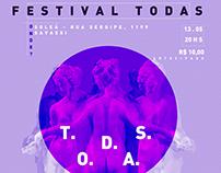 Festival Todas - poster photos videos -women's festival