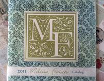2011 Melissa Frances Catalog