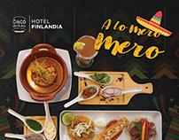 Photo design for restaurant