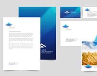 Propuesta de identidad - Azul jacaranda