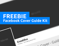 Freebie - Facebook Cover Guide kit PSD