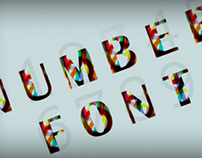 Numbers Font
