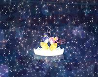 星降りデート