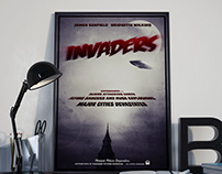Invaders: B-Movie Poster