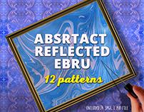 Absrtact Marble Ebru Art Patterns