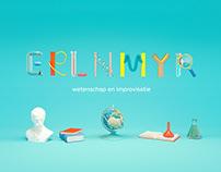 ERLNMYR | branding + 3D illustrations