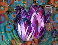 Floral Kaleidoscope Series