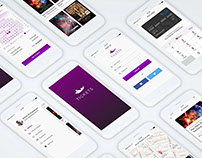 Tickets Complete App UI