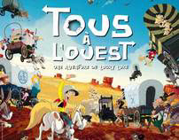 GO WEST, Lucky Luke animation and clean animation China