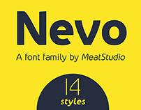 Nevo Font Family