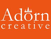 Adorn Creative logo and identity