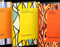Maya Angelou Autobiography Book Covers