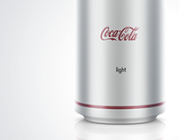 Some minimalism for Coca Cola company