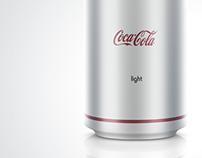 Some minimalism for Coca Cola company
