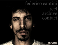 Federico Cantini (Director of Photography) - Website
