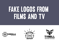 Fake logos from films and TV