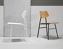 Rex Kralj 1960 Chair Junior - 3D model