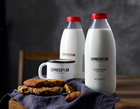 Espressolab Milk Bottle | Packaging