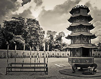 Gunung Chinese Temple, Medan, Sumatra, Indonesia