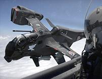 VSTOL Warplane Concept