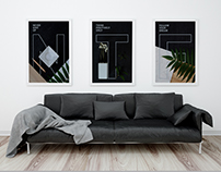 Series Flat Lay Posters