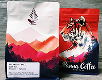 Panna Coffee - Illustration & Packaging Design