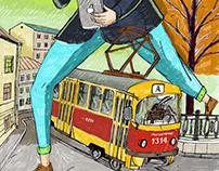 Illustration for Russian pioneer / для Русского пионера