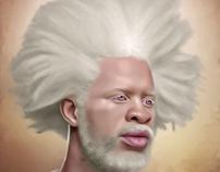 """""""Black is Beautiful"""" series Digital Art by Wayne Flint"""
