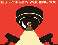 1984 - George Orwell - Bookmark